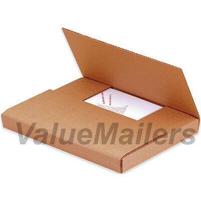 50 - 11 18 X 8 58 X 2 Kraft Multi Depth Bookfold Mailer Book Box Bookfolds