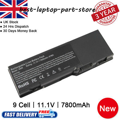9 Cell Battery for Dell Inspiron 6400 1501 E1505 GD761 KD476 PD942 Vostro 1000