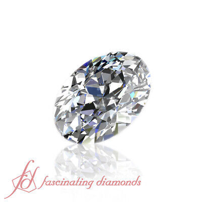 Oval Shaped Diamond - 1/2 Carat Discounted Diamonds For Sale - GIA Certified
