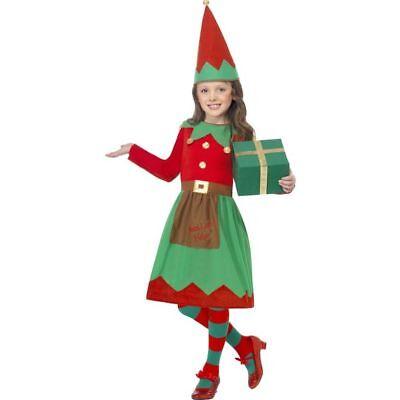 Smi - Kinder Kostüm Weihnachten Weihnachtself Karneval (Weihnachten Elf Kostüm Kinder)