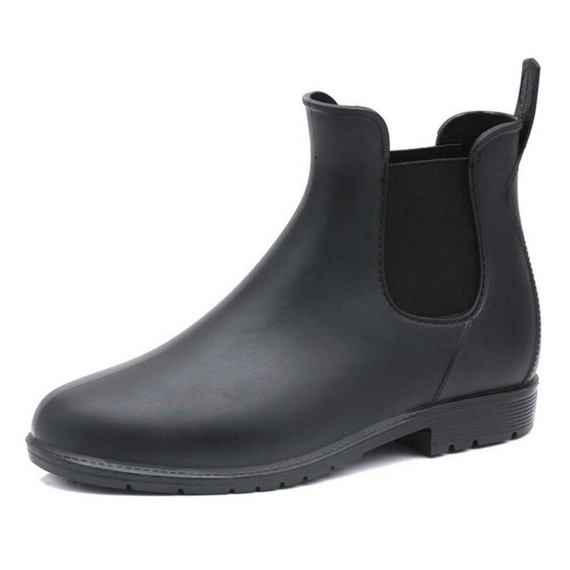 Women Ladies Winter Waterproof Anti-slip Chelsea Ankle Welli
