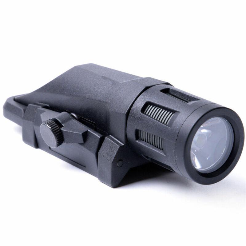 Tactical 400 Lumen Weapon Mounted Light Multifunction White LED WML Flashlight