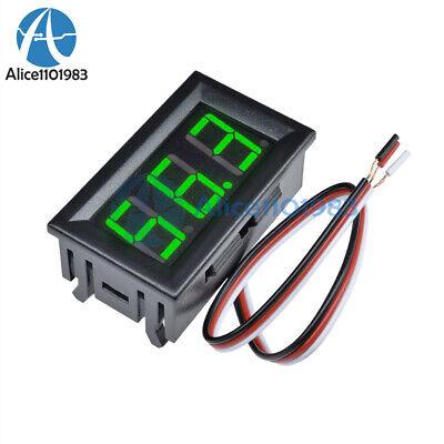 Green Led Panel Meter Mini Digital Voltmeter Dc 0v To 99.9v 0 -99.9v Display