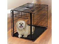 Black Dog Cage - Medium size (5kg to 15kg)