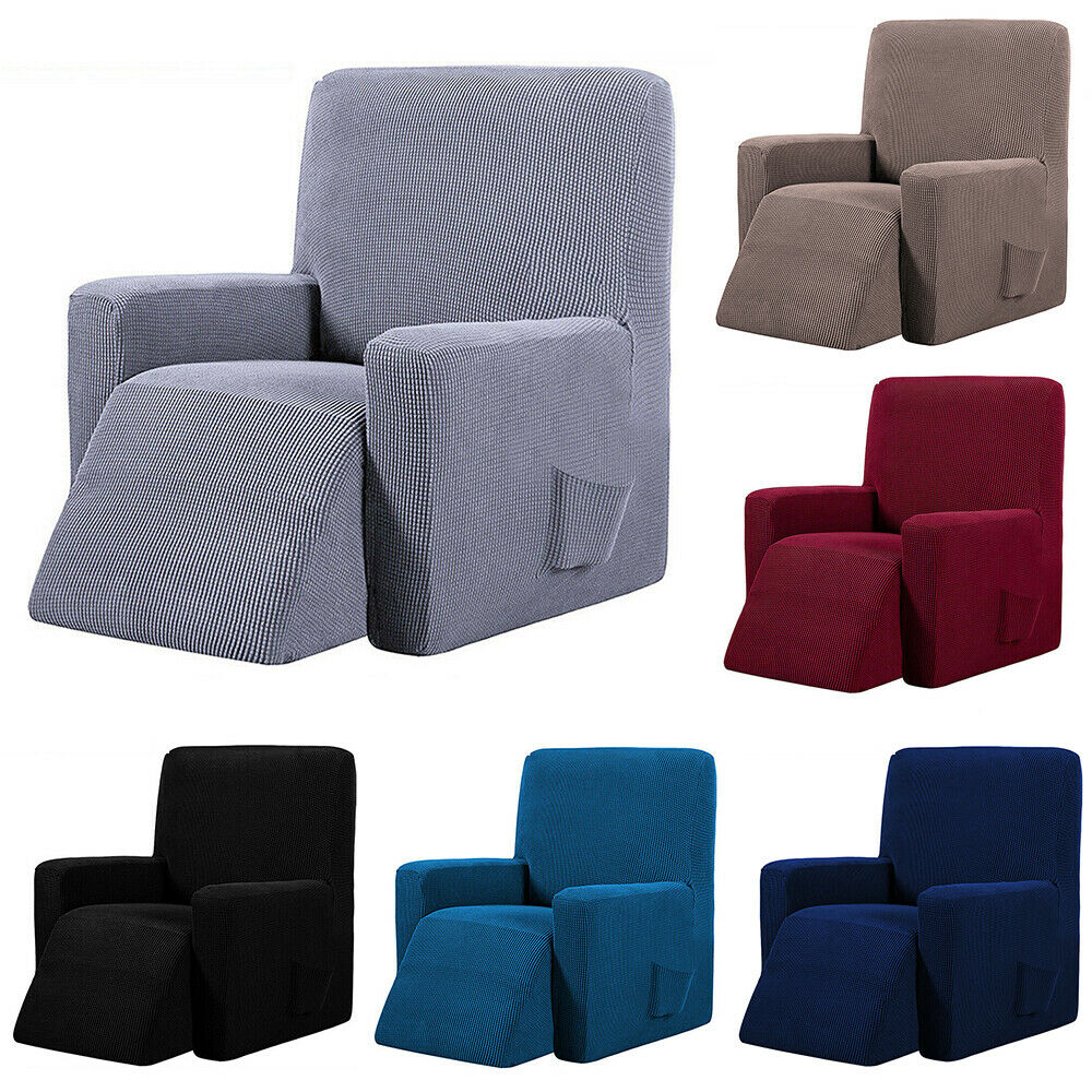 Recliner Stretch Sofa Slipcover Cover Furniture Protector Co