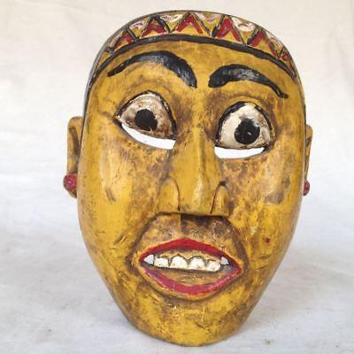 Old Topeng Wayang Bali Java Theatre Mask Wood Mask 6
