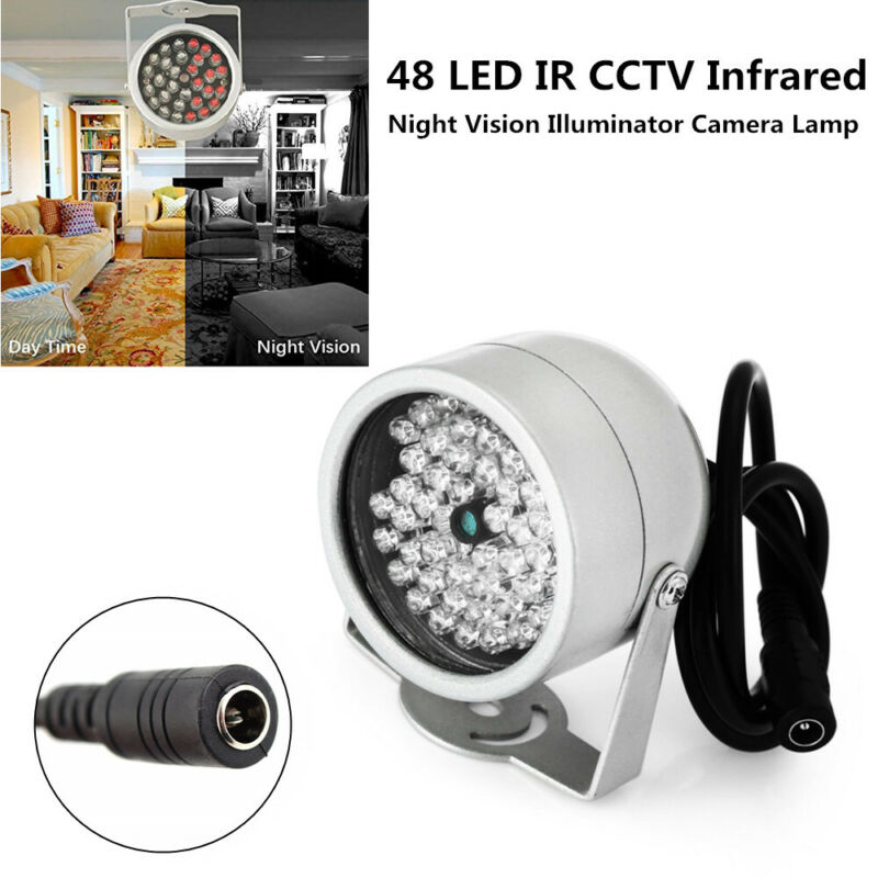 48 LED IR Infrared Illuminator Light Night Vision for Home CCTV Security Camera