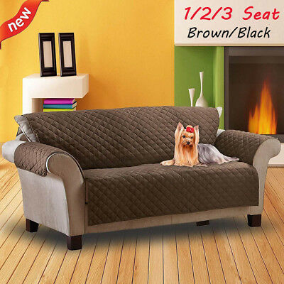 Sofa Covers For Dogs Pets Kids Anti-Slip Couch Armchair Furniture Protector NEW ()