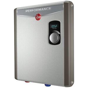 BNIB RHEEM PERFORMANCE ELECTRIC TANKLESS WATER HEATER