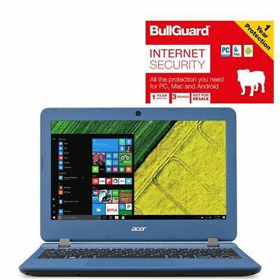 "Acer Aspire ES11 ES1-132-C22B Laptop 11.6"" 32GB With BullGuard Internet Security"