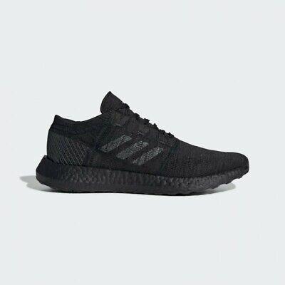 New Adidas Pureboost GO Triple Black, Like Ultra Boost Mens Size 10.5 F35786