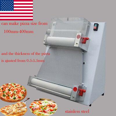 Home Automatic Electric Pizza Dough Roller Sheeter Machine Bread Making Machine