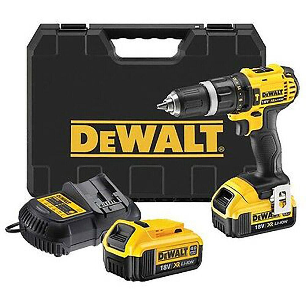 Dewalt DCD785M2 18V 4.0Ah Hammer Drill Driver