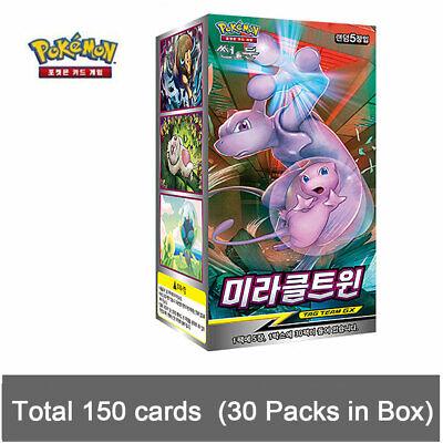 "Korean Ver Pokemon Cards Sun /& Moon /""Shining Legends/"" Booster Pack SM3 1EA"