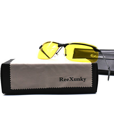 Best Night Vision Glasses For Driving Metal Frame Sunglasses UV400 Sport