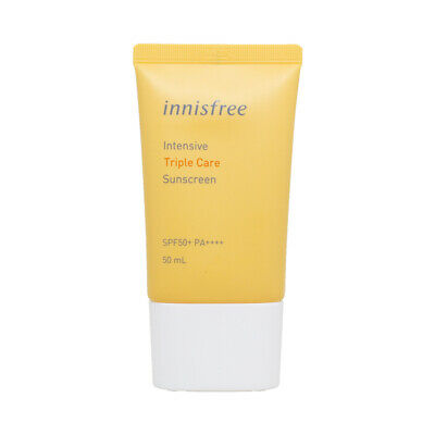 Triple Care Creme (Korea Kosmetik [Innisfree] Intensive Triple Care Sonnencreme SPF50+ PA++++1.69oz)