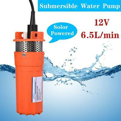 Submersible Water Pump 30 Metre Cable 6.5L/min Alternative Energy Solar Powered
