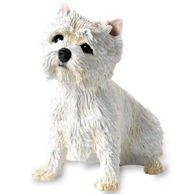Country Artists West Highland Terrier Sitting Westie Figurine New Boxed CA00099