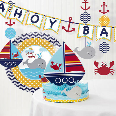 Nautical Baby Shower Decorations Kit