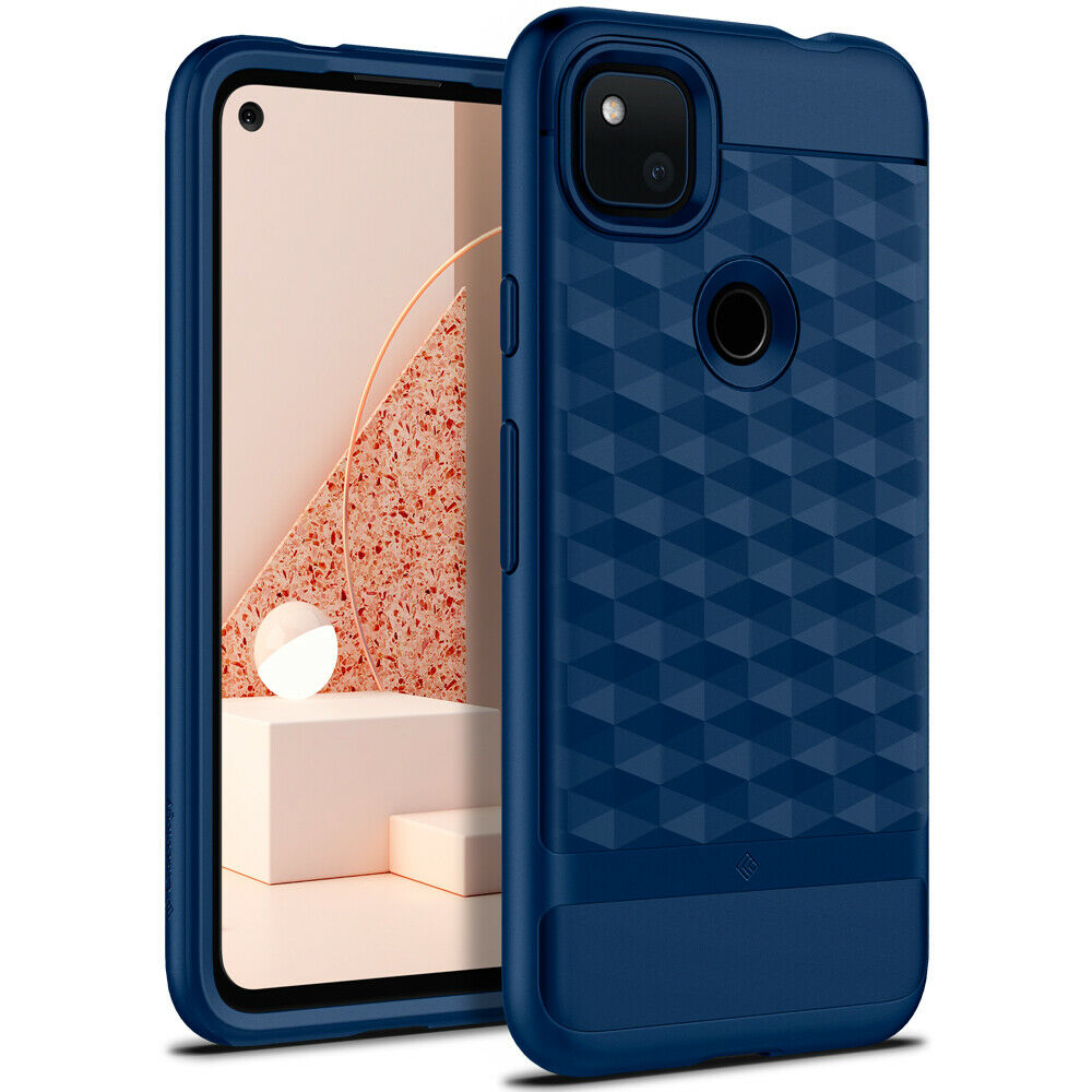 Google Pixel 4a Case Caseology [Parallax] Patterned Shockproof Slim Cover (2020)