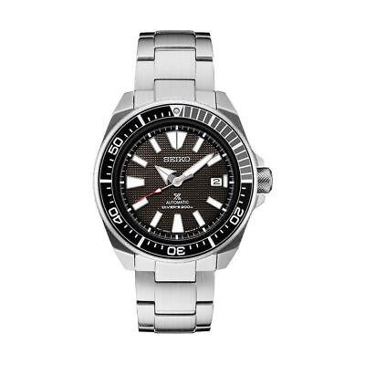New Seiko Prospex Samurai Divers 200M Automatic Mens Steel Bracelet Watch SRPB51