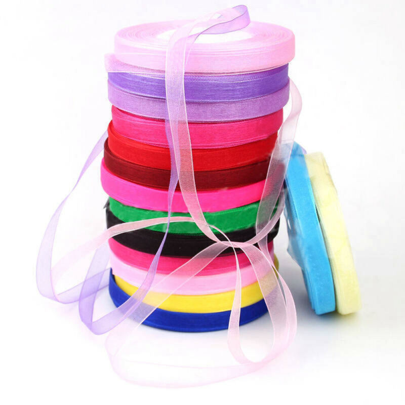 Party Supplies Satin Ribbon Fabric Silk Rope Gift Wrapping W