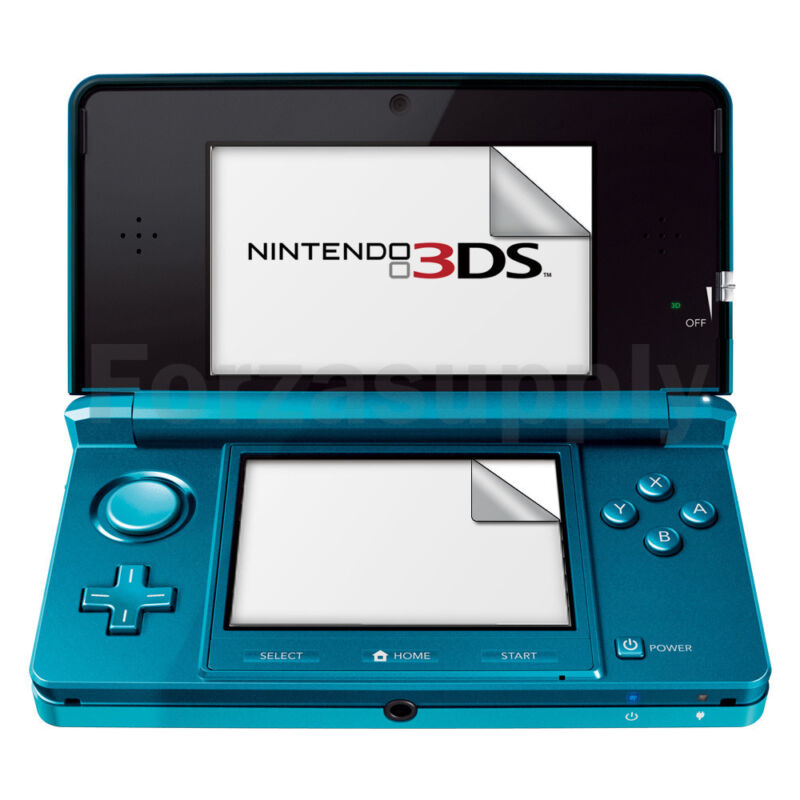 B2G1 Free NEW Anti-Scratch LCD Ultra Clear HD Screen Protector for Nintendo 3DS
