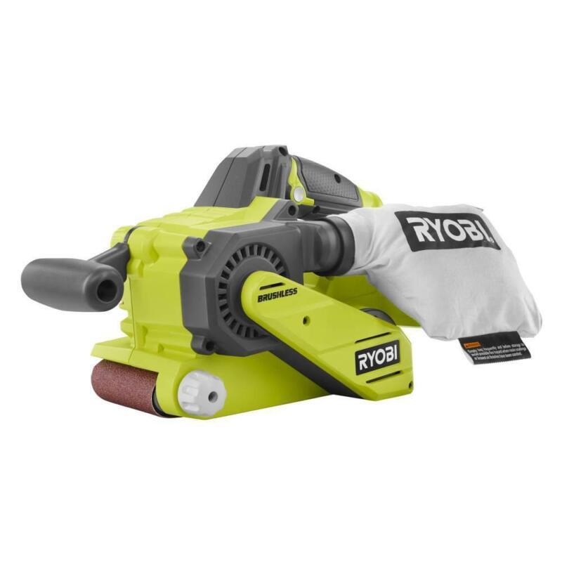 Ryobi Belt Sander Tool Only w Dust Bag Sanding Belt Cordless