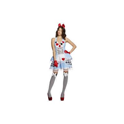 Smi - Fever Damen Kostüm Kartenspiel Prinzessin Karneval - Dame Spieler Kostüm