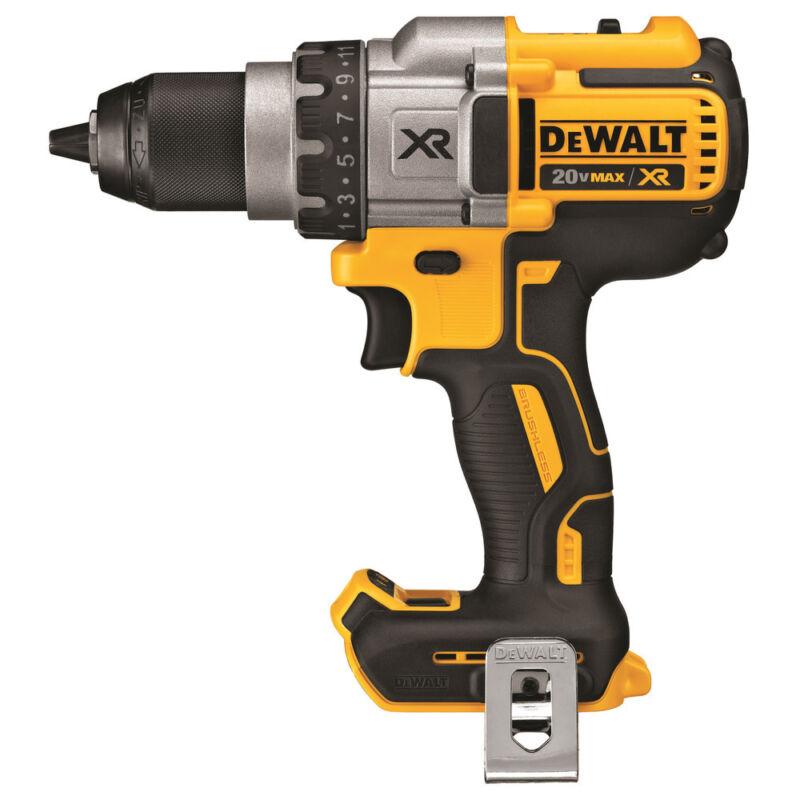 "DEWALT 20V MAX XR Li-Ion 3SPD 1/2"" Drill (Bare Tool) DCD991BR Reconditioned"