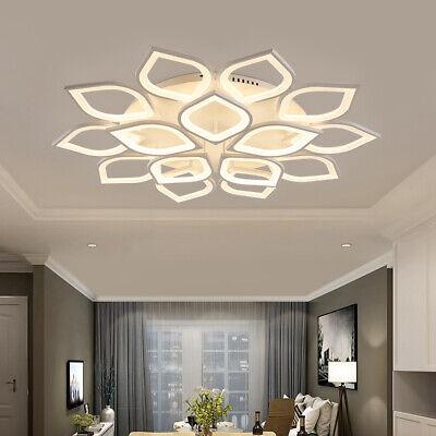 Modern Chandelier LED Acrylic Ceiling Light Living Room Bedroom Flush Mount Lamp Acrylic Flush Mount