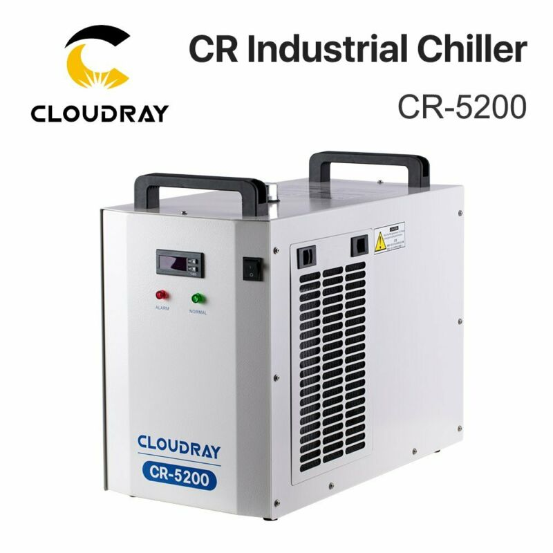 Cloudray 5200 Industry CO2 Water Chiller 110V for Laser Cutting 1 Year Warranty