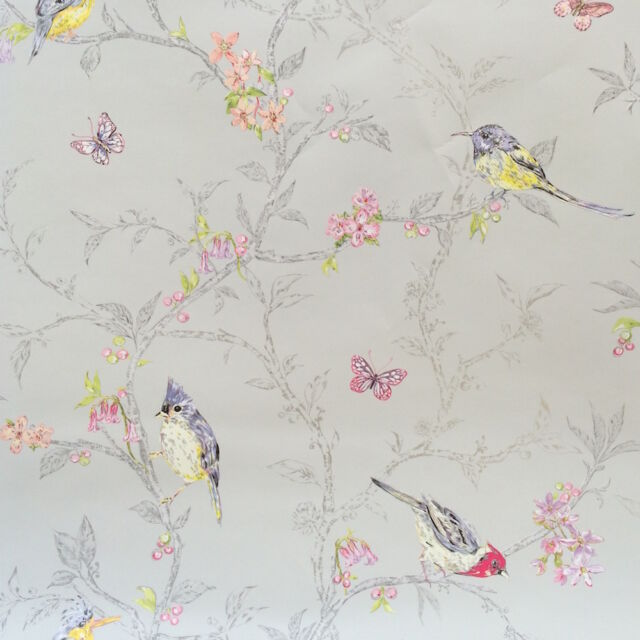 Phoebe Shabby Chic Wallpaper by Holden decor 98081