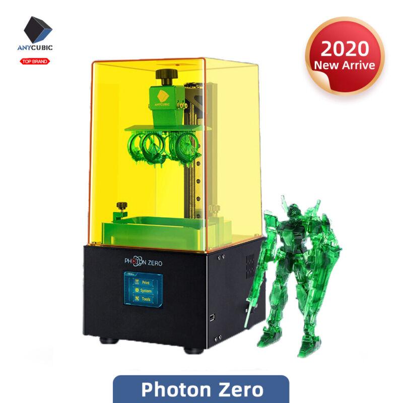 "New ANYCUBIC Photon Zero LCD 3D Printer UV Light-Cure 2.8""TFT Resume Print Resin"