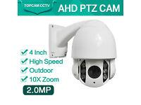 ptz cctv camera sale ahd 4inch metal housing ahd2mp