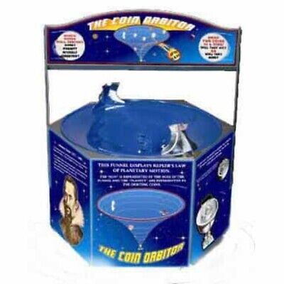Coin Orbitor Spiral Coin Funnel
