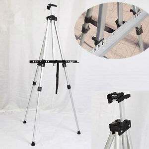 Tripod-Display-Presentation-Exhibition-Folding-Artist-Adjustable-Aluminum-Easel