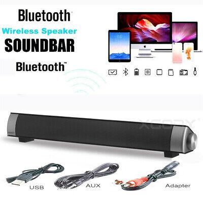 Bluetooth Inalámbrico 3D Barra Envolvente Audio Estéreo De Sonido Altavoz De TV