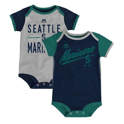 Seattle Mariners MLB Majestic Newborn