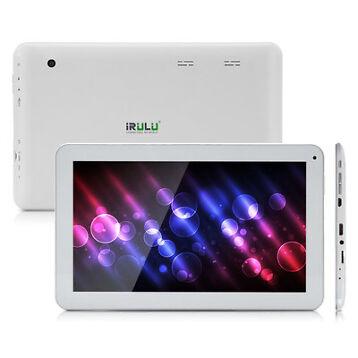 "iRULU 10.1"" Android 5.1 Lollipop 10 Inch Tablet PC 8G Quad Core GMS White BT New"