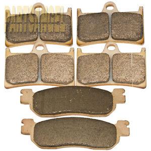 Front-Rear-Performance-Sintered-Brake-Pads-Yamaha-YZF-R1-R6-600RR-3-sets