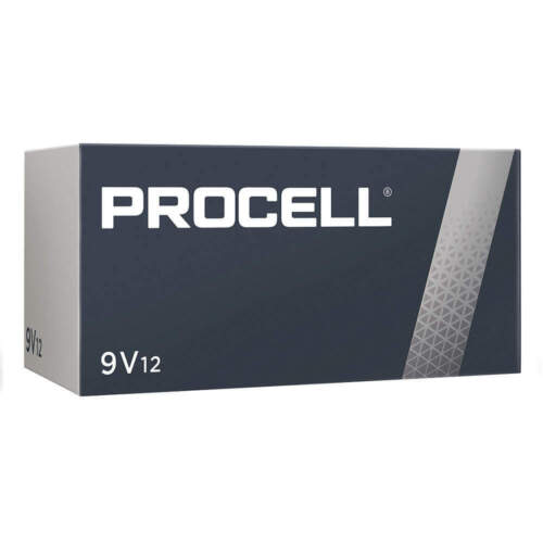Case 12 New Duracell Procell 9v 9 Volt Alkaline Batteries Exp In 2024 !!