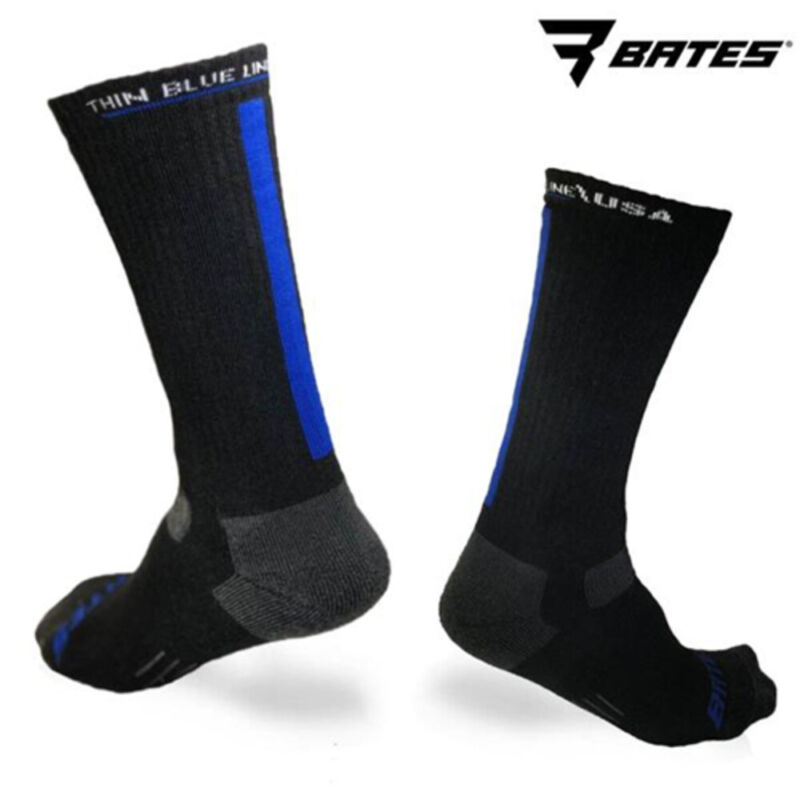 Thin Blue Line SOCK-TBL-LARGE Bates Usa Collaboration Special Edition Socks