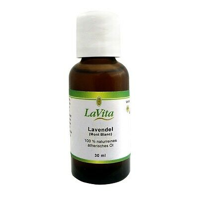 Lavita Lavendelöl (Mont Blanc) - 100 % naturreines ätherisches Öl 30 ml