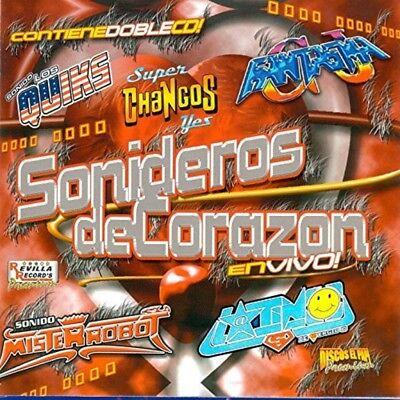 Loros Barranqueros, Grupo Fantasma, Sol y Oasis Sonideros De Corazon CD New