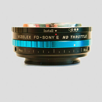 Fotodiox  Viselex Throttle canon FD Lens to Sony NEX E-Mount  Adapter