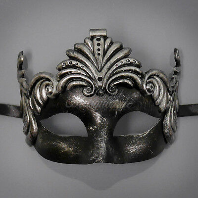Greek For Goddess (Silver Masquerade Mask, Goddess Roman Greek Venetian Masquerade Mask for Women)