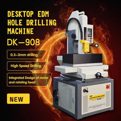 Edm Micro Hole 0.3-3mm Drilling Machine Dk-908 Wire Cut Edm Drilling Machine
