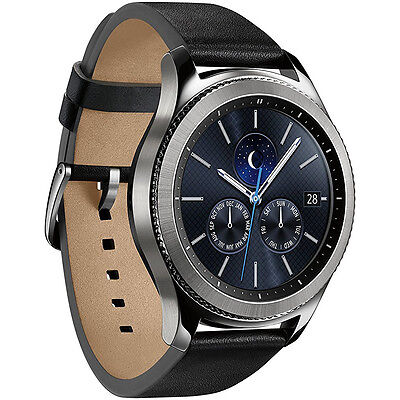 Samsung Gear S3 Classic Bluetooth Watch with Built-in GPS - Silver