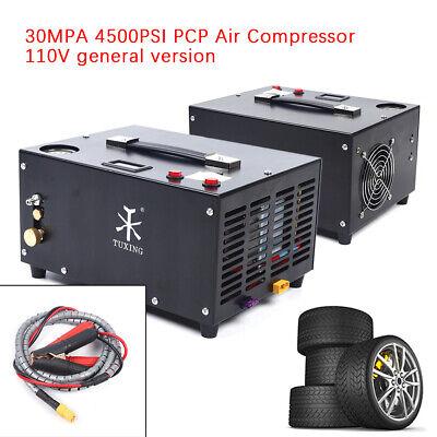 High Pressure 30mpa 4500psi Air Compressor Pcp Airgun Scuba Air Pump Portable